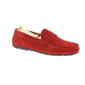 Indosso mocassin rood
