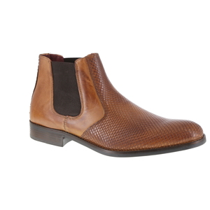 Green Step boots cognac