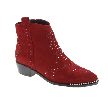 Bronx boots rood