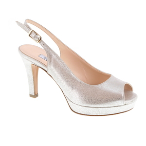 L'amour slingback zilver