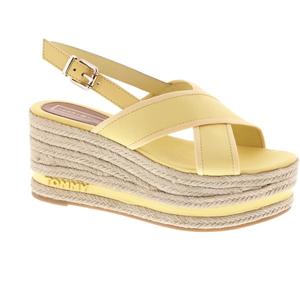 Tommy Hilfiger sandaal geel