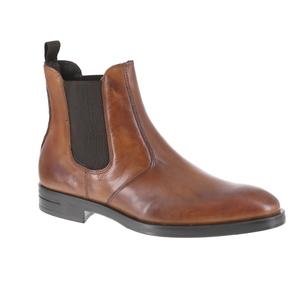 Green Step boots cognac