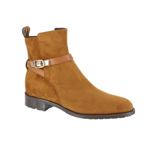 Luca Grossi boots cognac