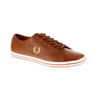 Fred Perry sneaker bruin