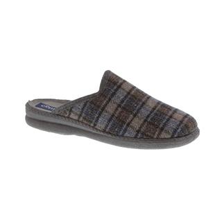 Enrico pantoffel grijs