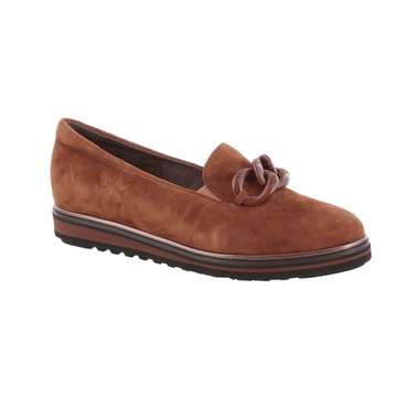 Softwaves mocassin cognac